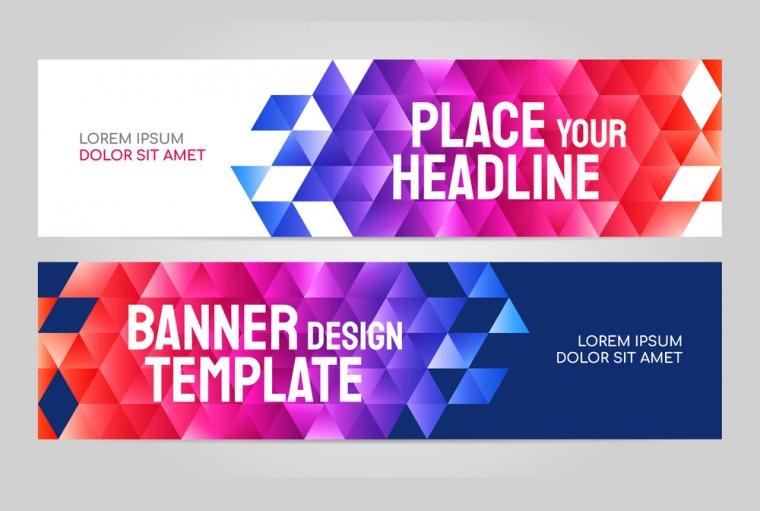 Profesionalno oblikovanje bannerjev