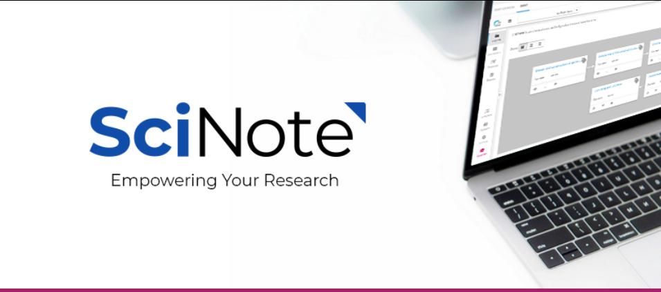 Elektronski laboratorijski dnevnik – SciNote ELN